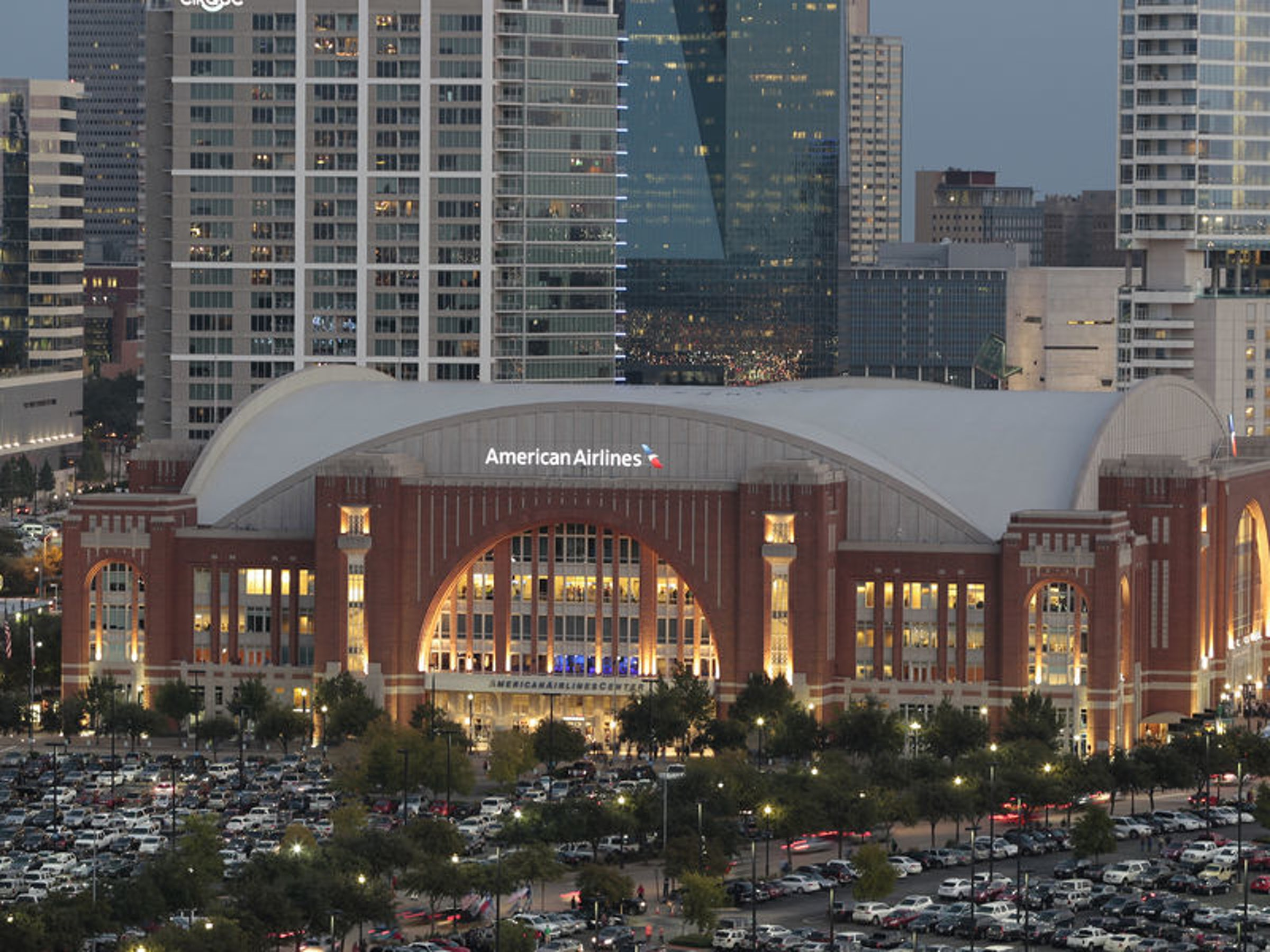 American Airlines Center in Beyond Dallas