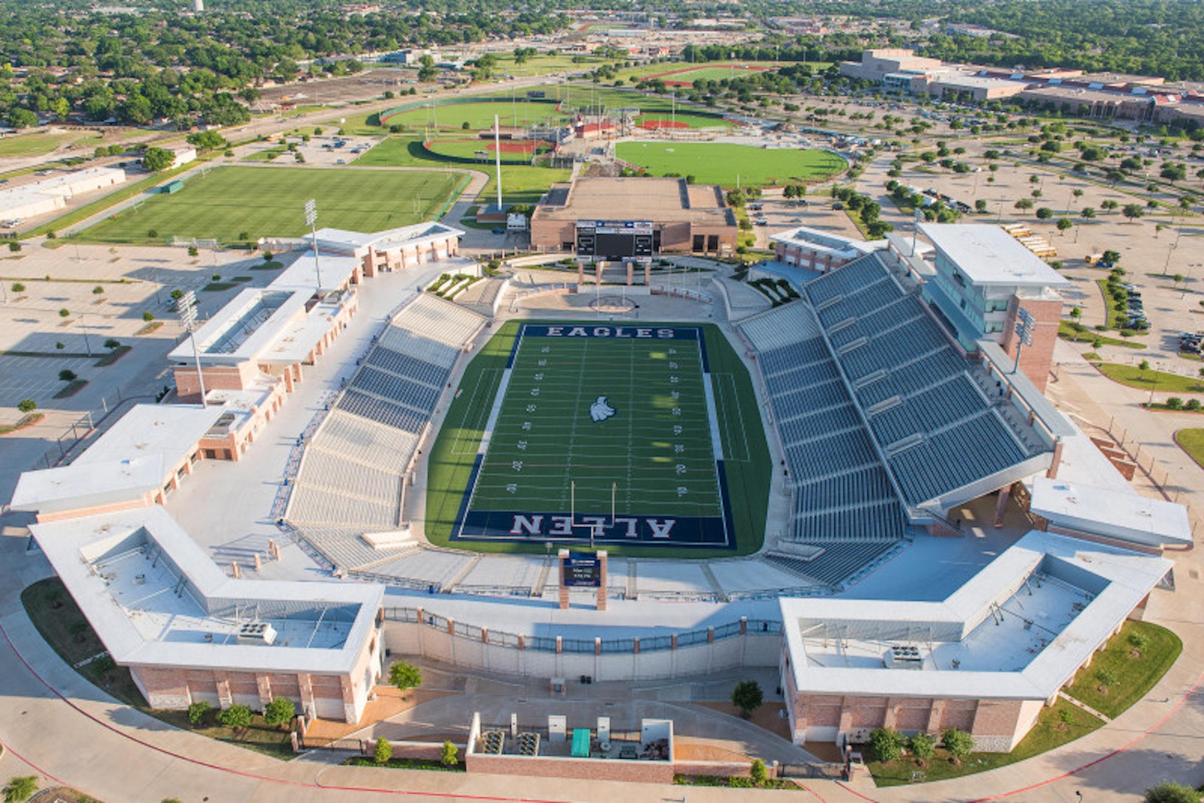 Allen Eagle Stadium in Beyond Dallas