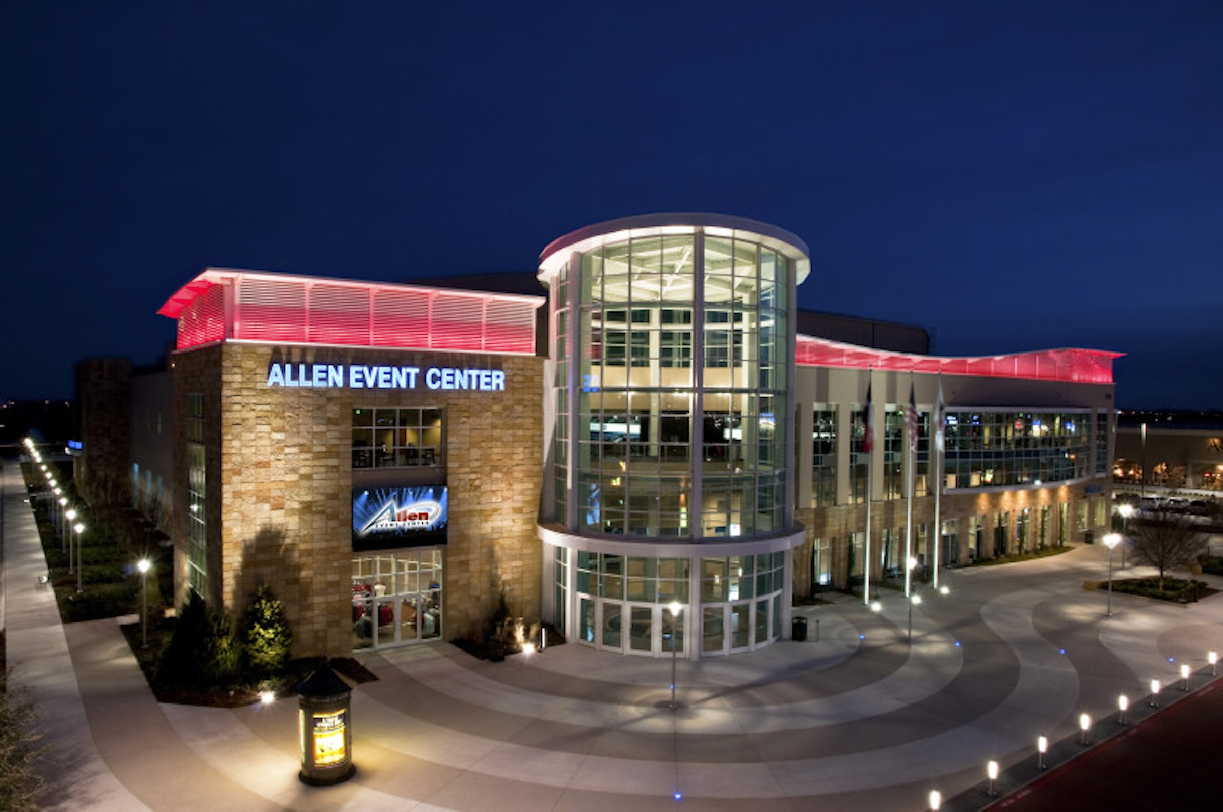 Allen Event Center in Beyond Dallas