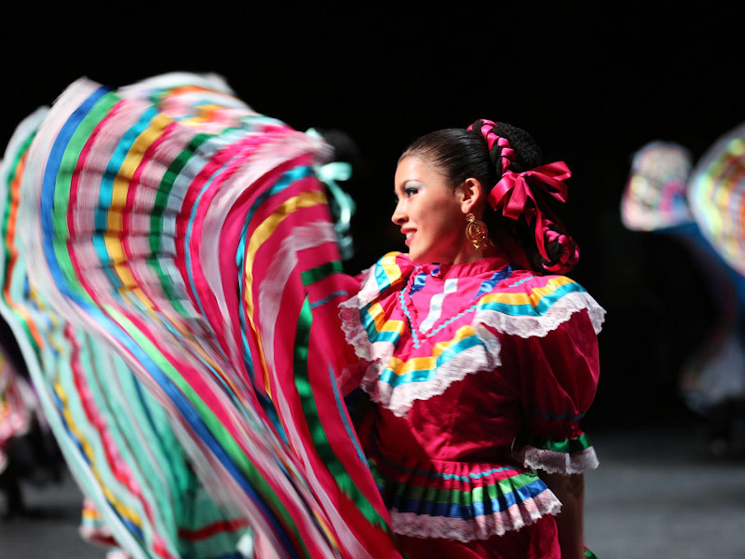 Anita N. Martinez Ballet Folklorico in Beyond Dallas