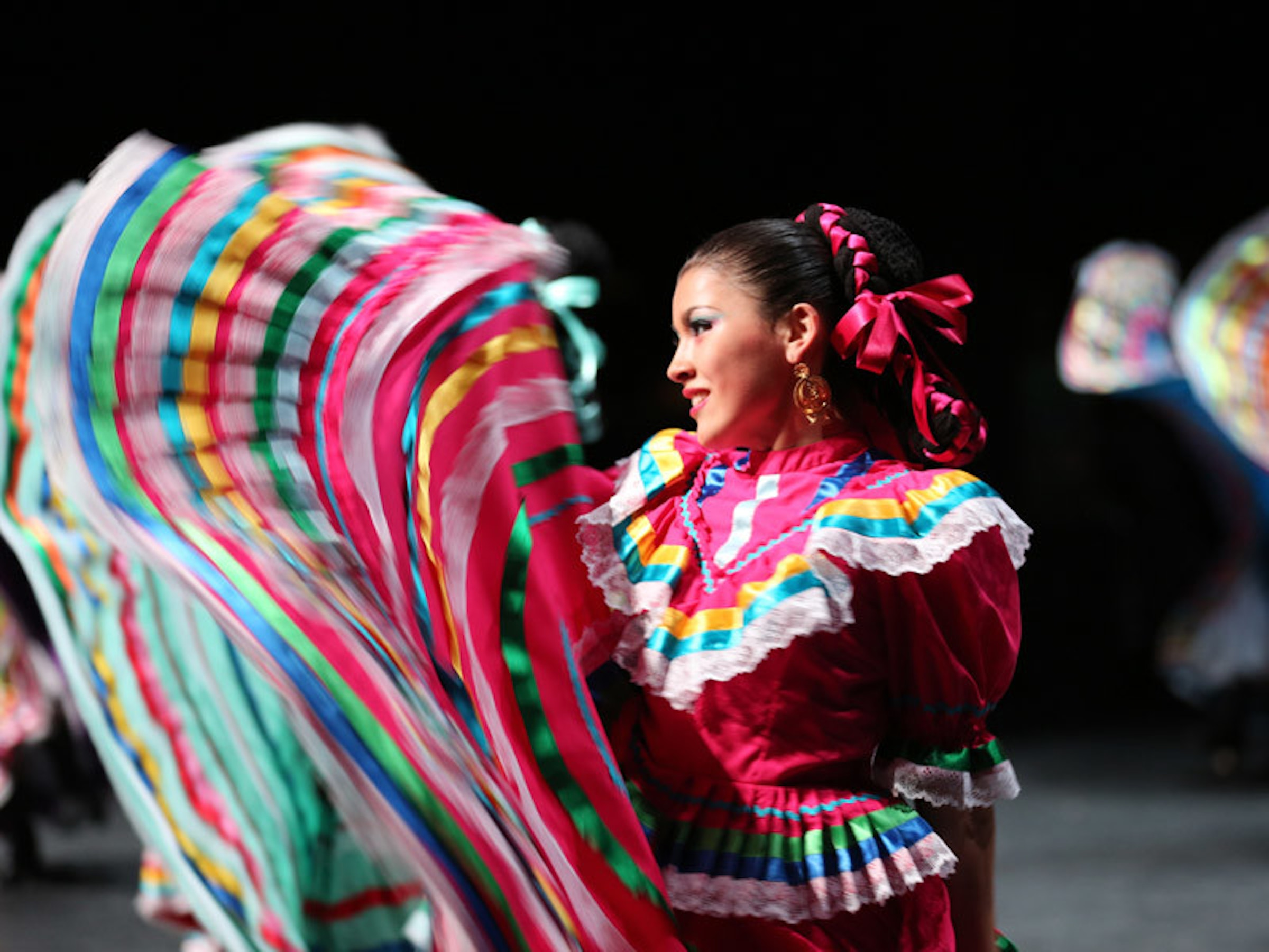 Anita N. Martinez Ballet Folklorico in Beyond Dallas