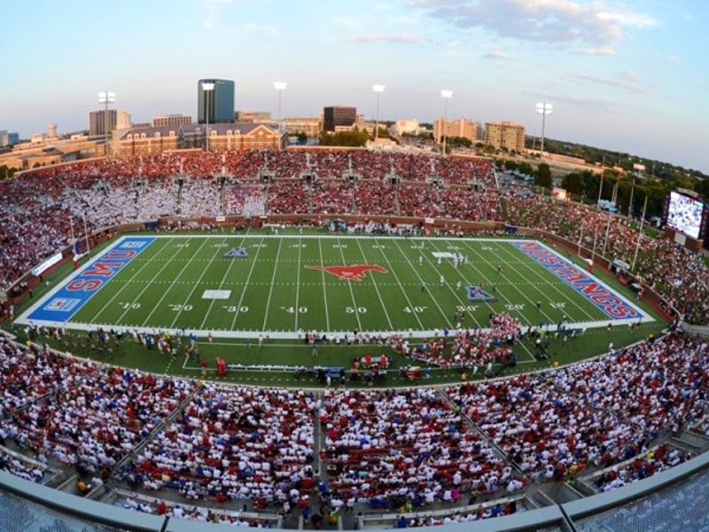SMU - Gerald J. Ford Stadium in University Park