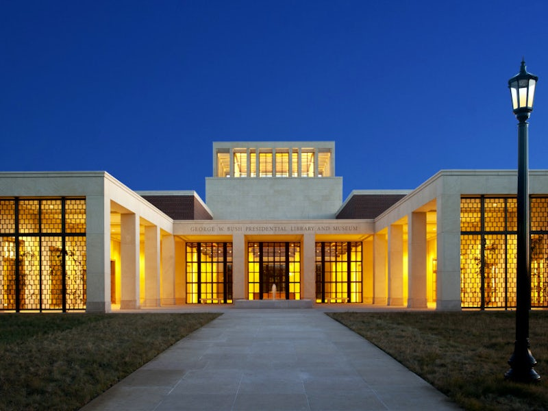 George W. Bush Library and Museum in University Park