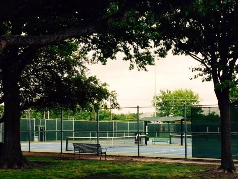High Point Tennis Center in Plano
