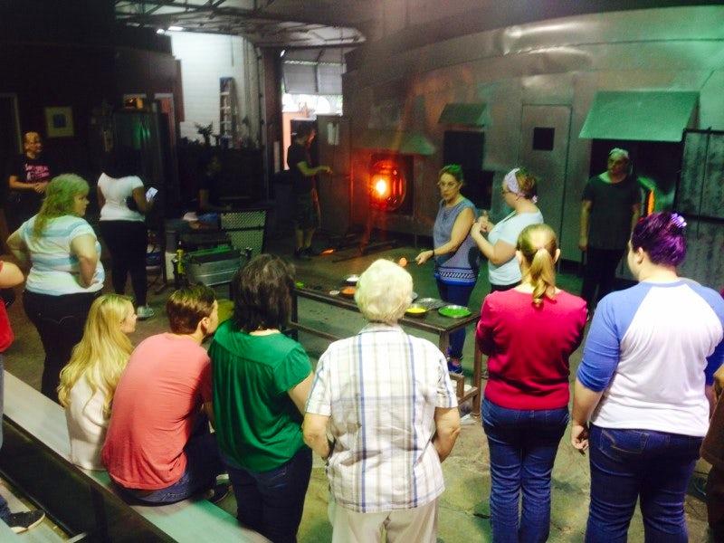 Dallas Glass Art in Design District