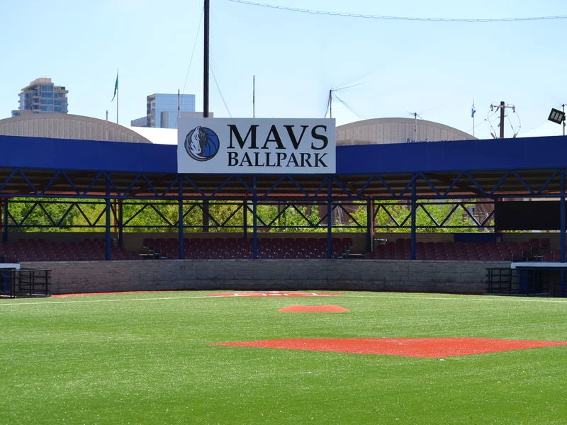 Mavs Ballpark in Victory Park