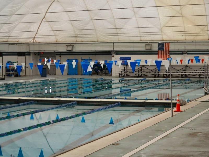 Northlake Aquatic Center in Las Colinas