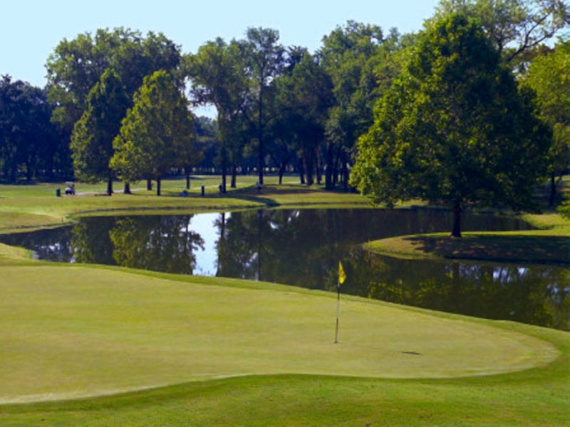 Tenison Park Golf Course in East Dallas