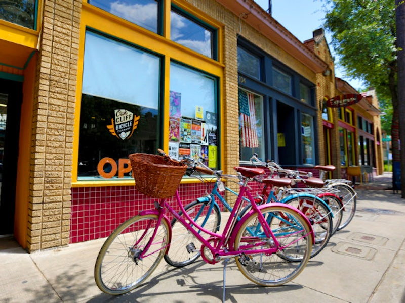 The Bishop Arts District in Oak Cliff