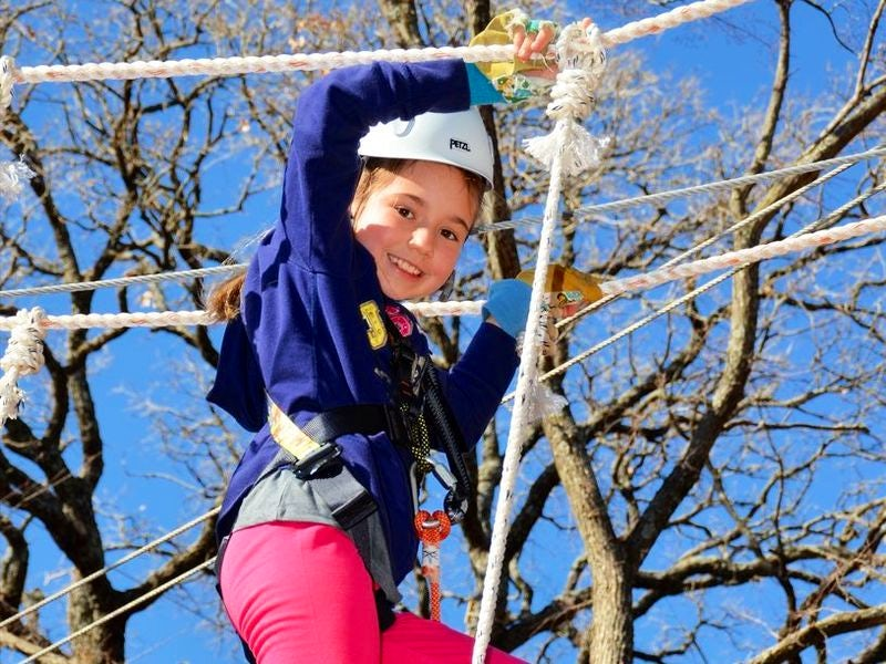 Trinity Forest Adventure Park in South East Dallas