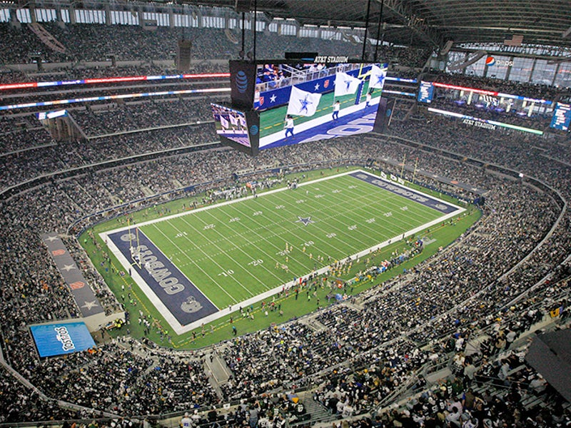 AT&T Stadium in Beyond Dallas