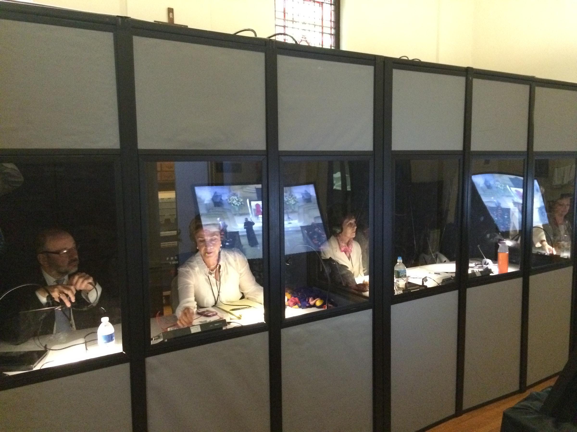 International Simultaneous Interpreters in Beyond Dallas