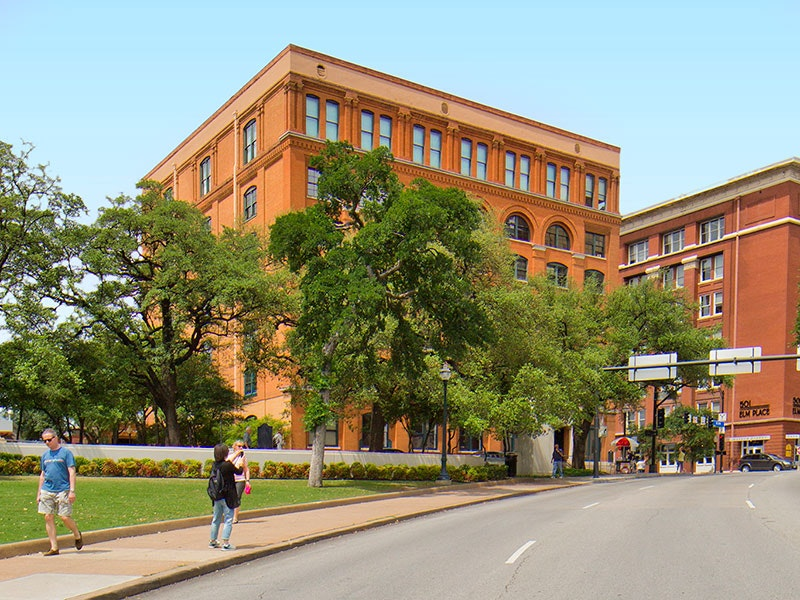 Captivating ... Sixth Floor Museum At Dealey Plaza In West End ...