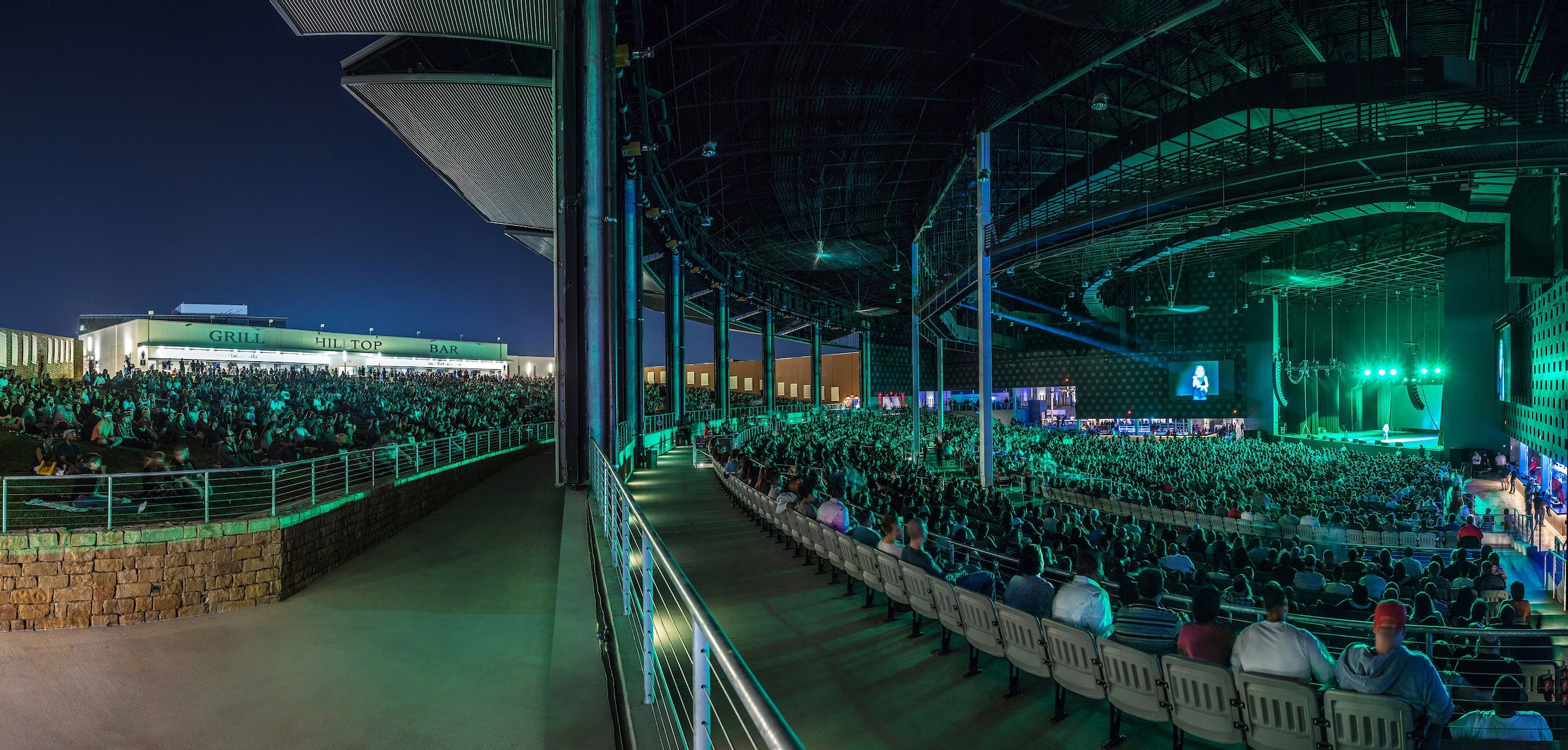 The Pavilion at Toyota Music Factory in Beyond Dallas