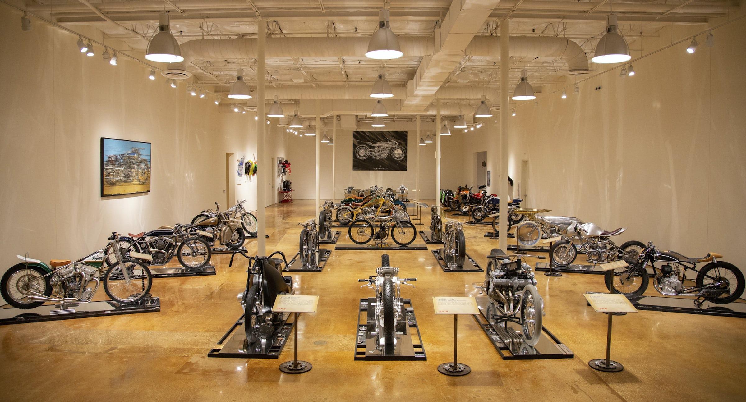 HAAS Moto Museum in Beyond Dallas
