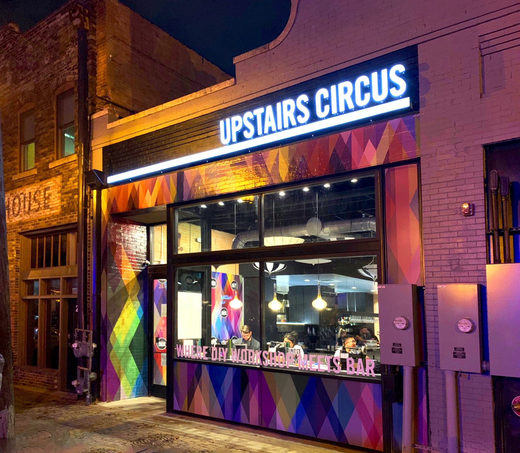 Upstairs Circus in Beyond Dallas