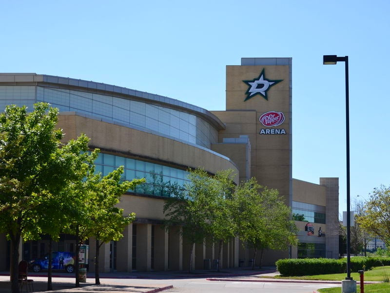 Dr Pepper Arena in Frisco
