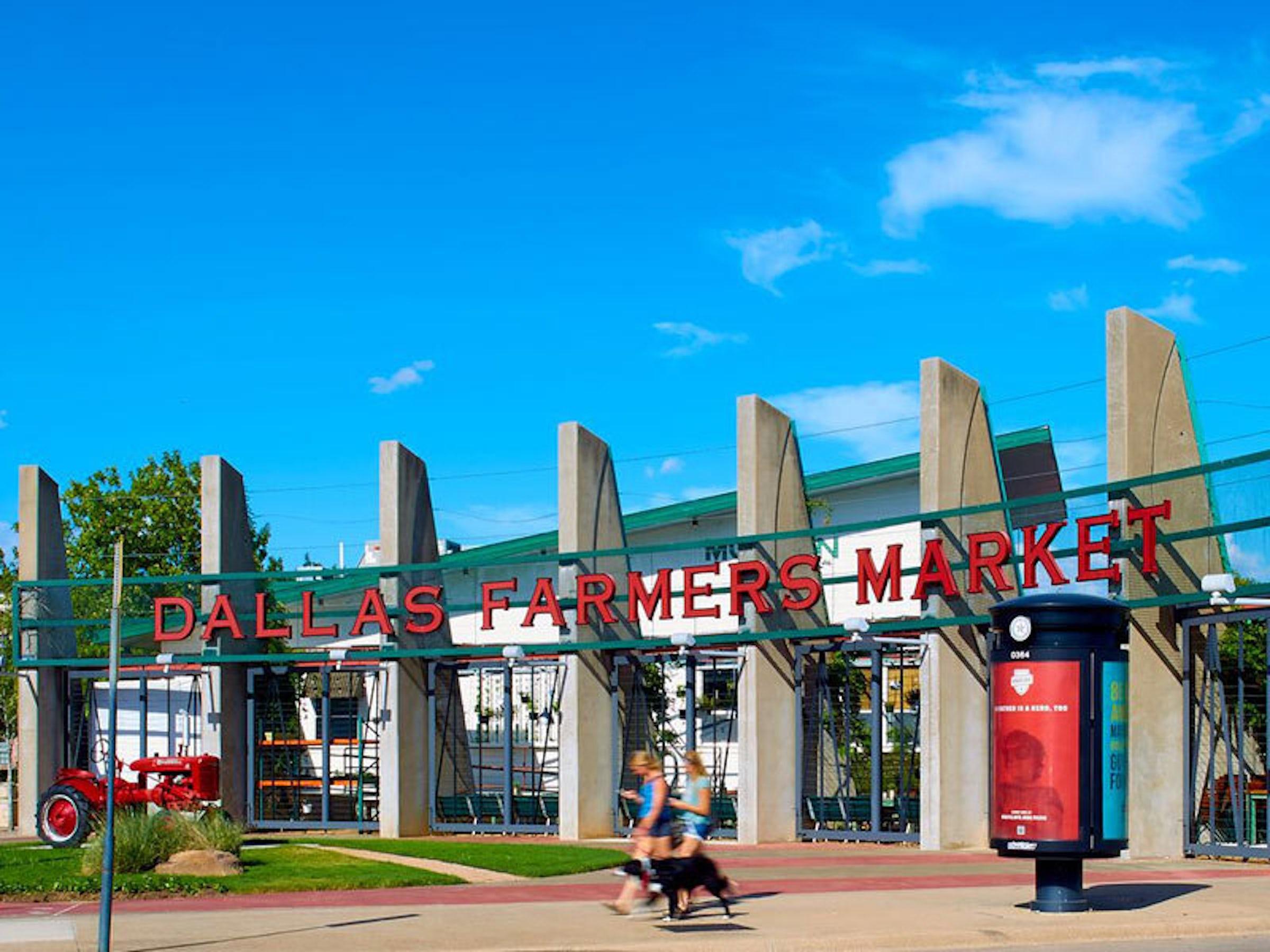 Dallas Farmers Market in Beyond Dallas