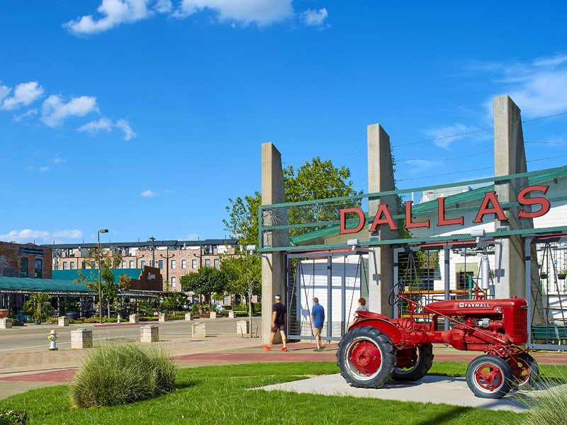 Dallas Farmers Market in Downtown