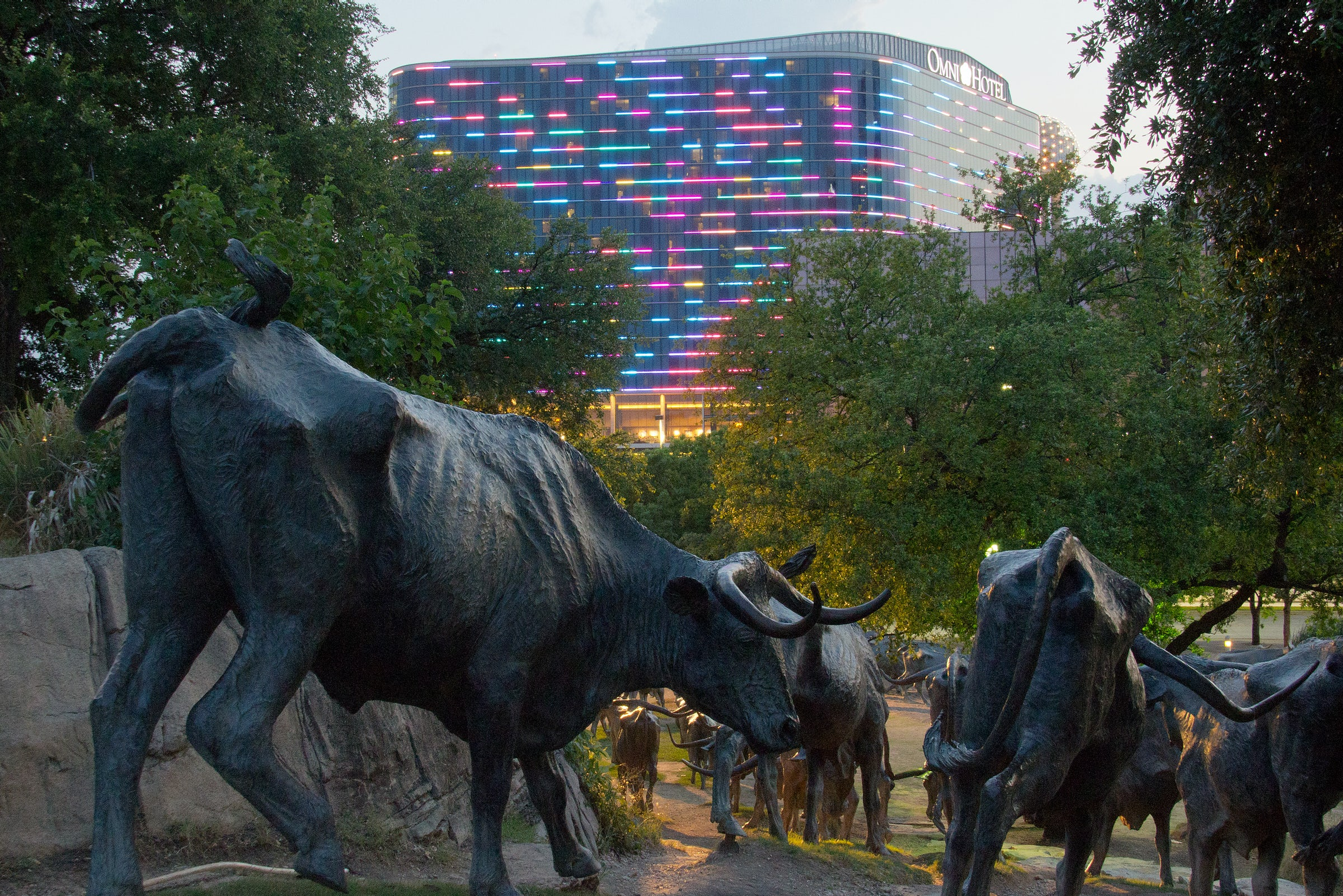 Pioneer Plaza in Beyond Dallas