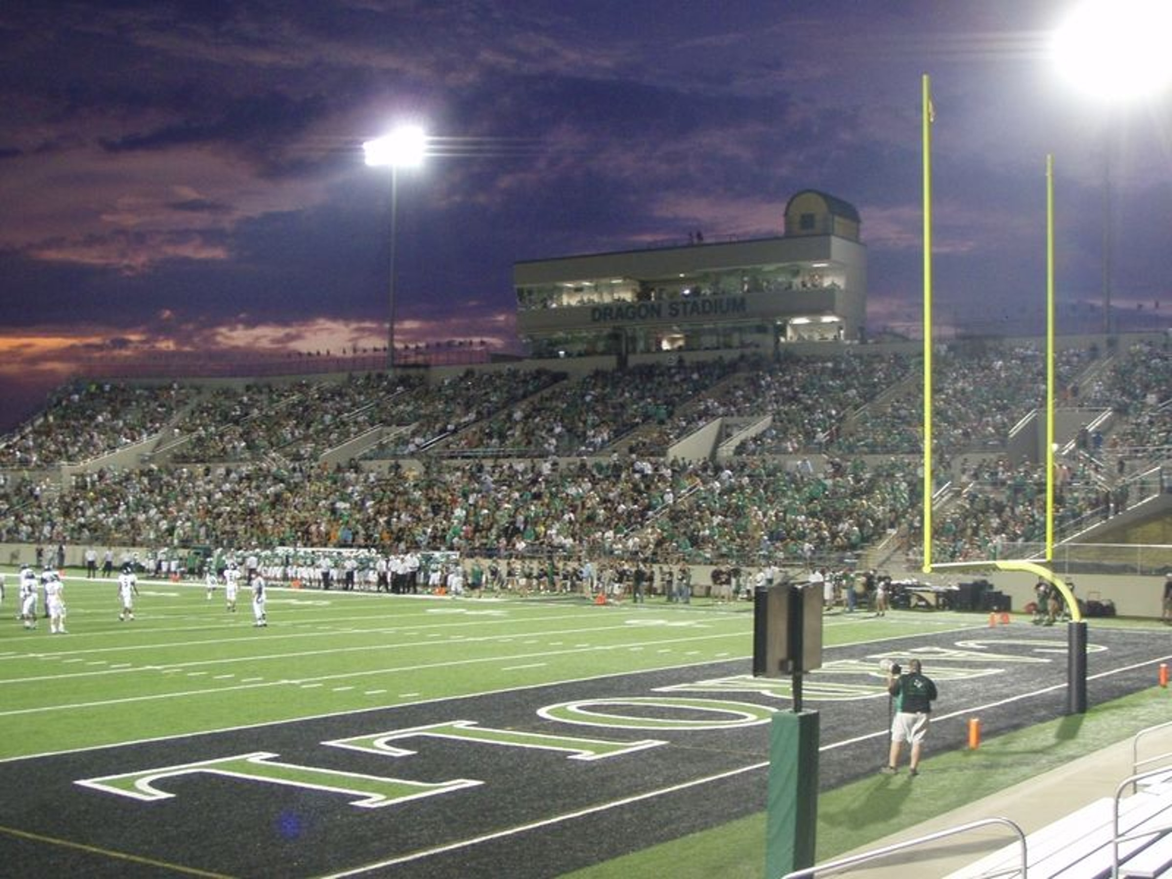 Dragon Stadium in Beyond Dallas
