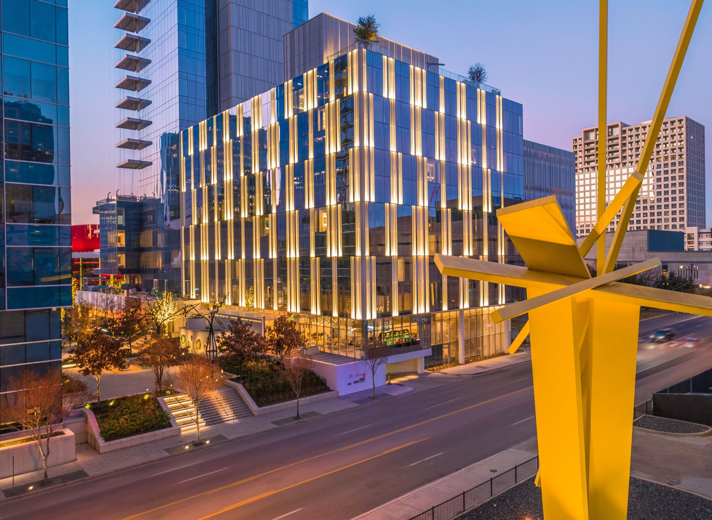HALL Arts Hotel in Beyond Dallas