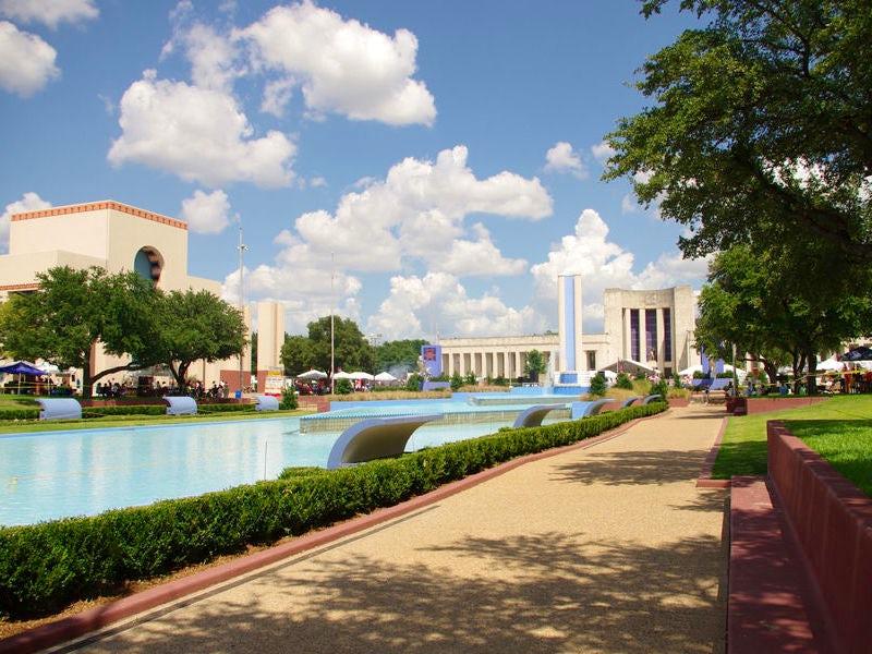 Fair Park in South Dallas