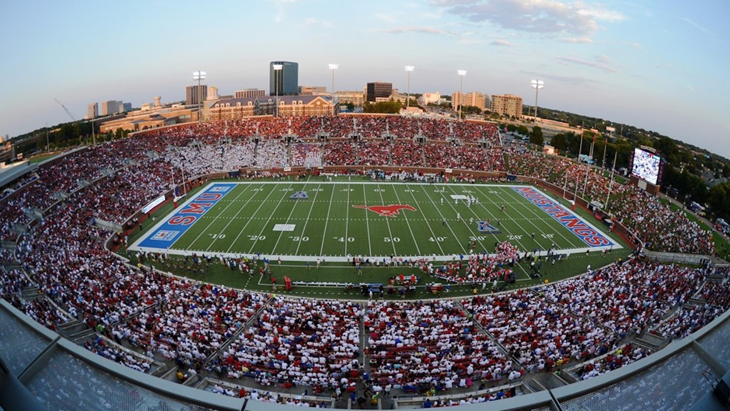 SMU - Gerald J. Ford Stadium in Beyond Dallas