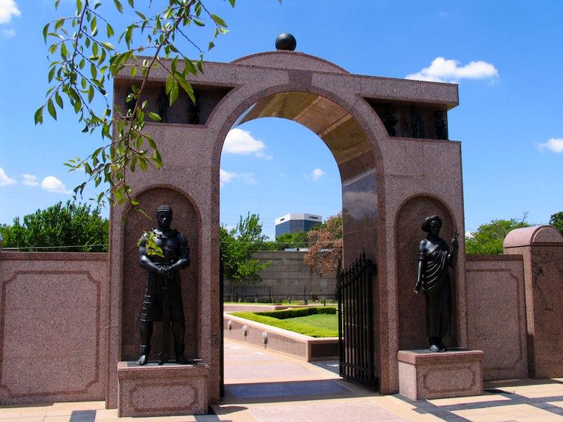 Freedman's Cemetery Memorial in Beyond Dallas