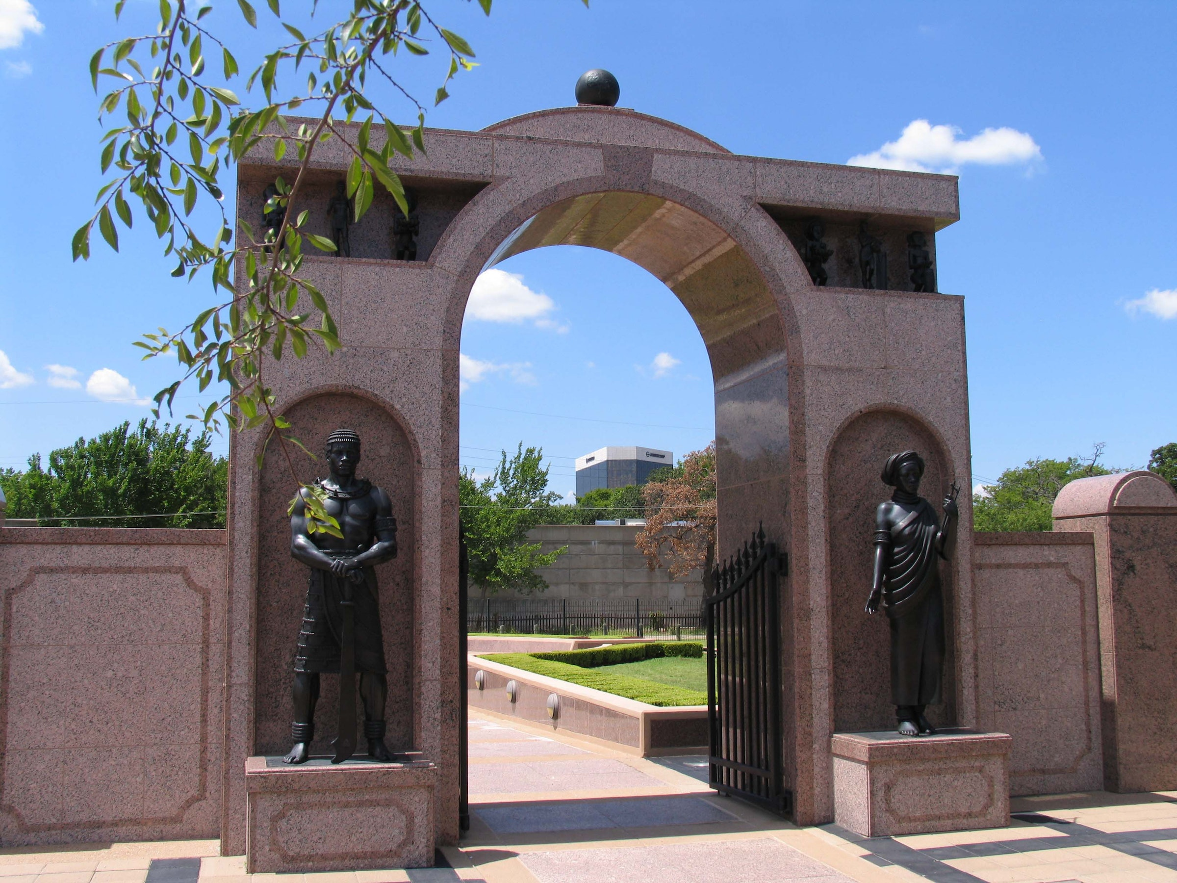 Freedman's Cemetery Memorial in Beyond Dallas