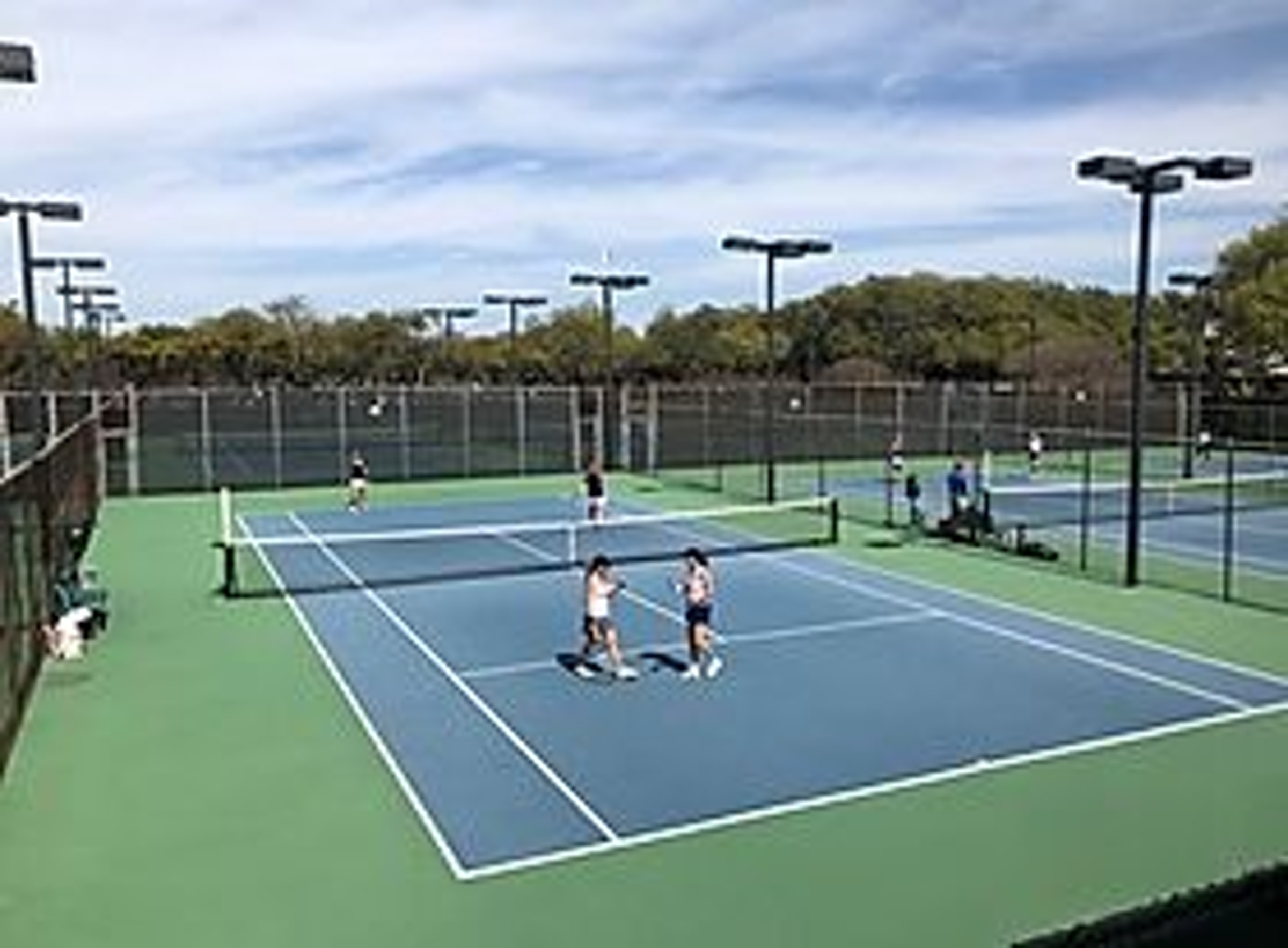 Fretz Tennis Center in Beyond Dallas