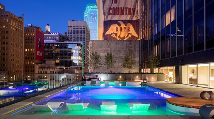... Hilton Garden Inn Downtown Dallas In Downtown