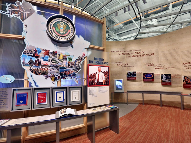 George W. Bush Presidential Center in University Park