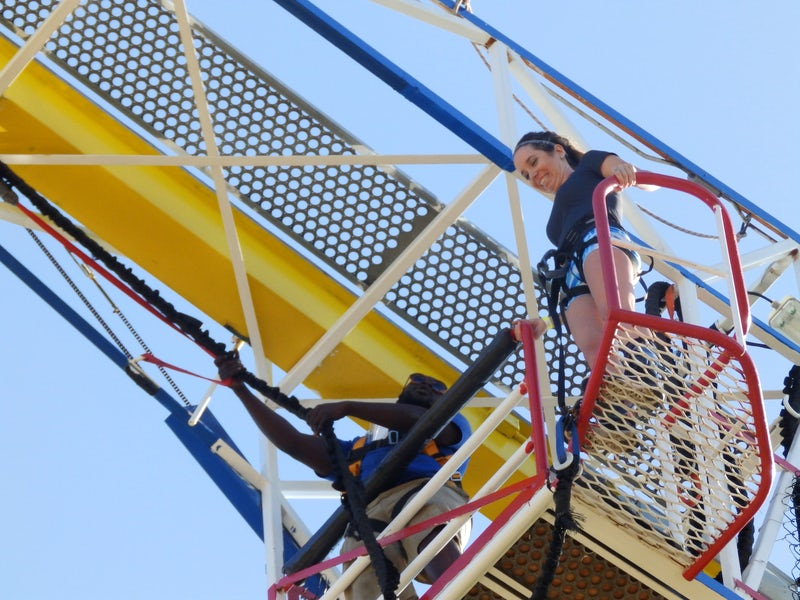 Zero Gravity Thrill Amusement Park in Far West Dallas