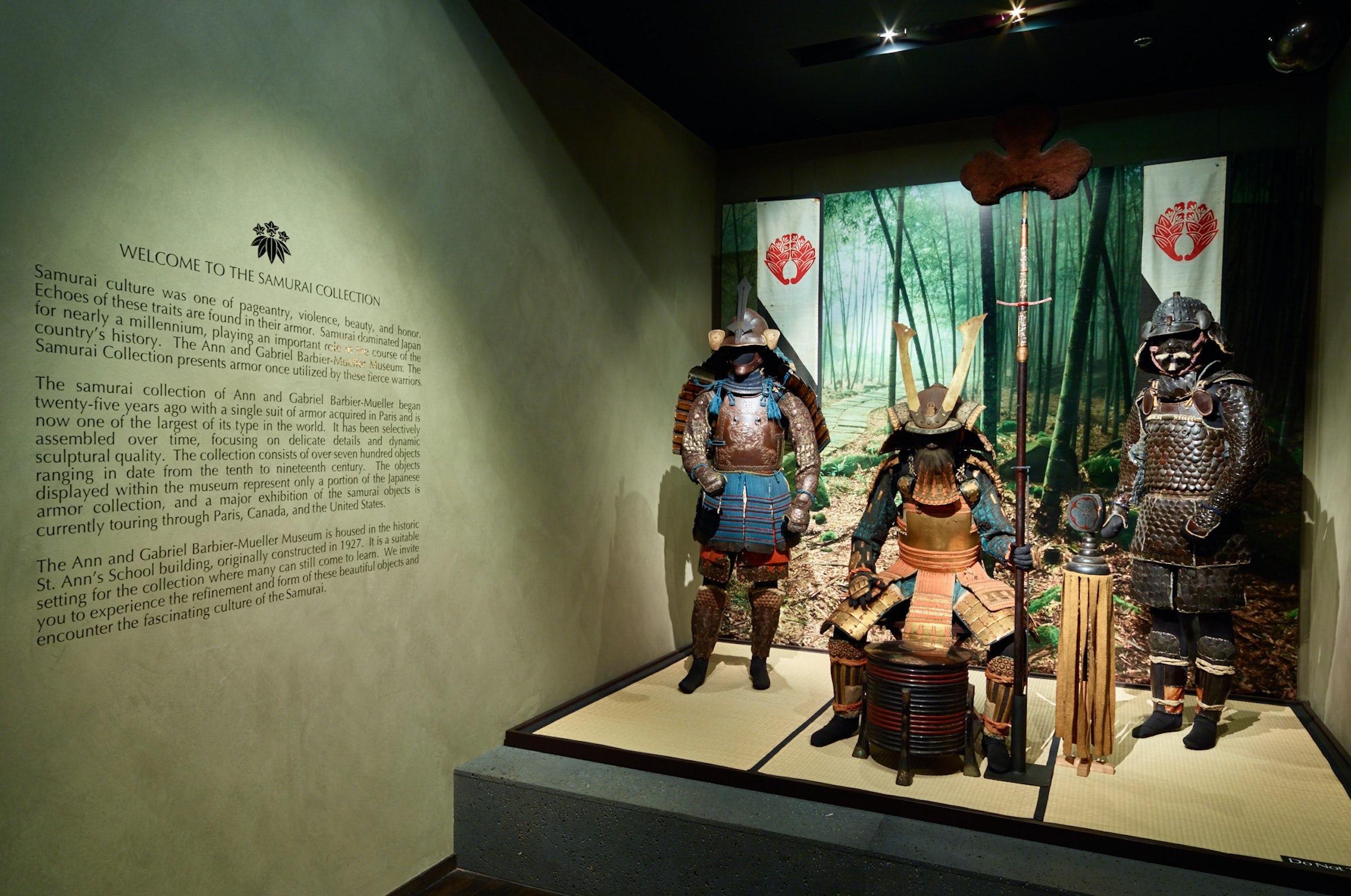 The Ann & Gabriel Barbier-Mueller Museum: The Samurai Collection in Beyond Dallas