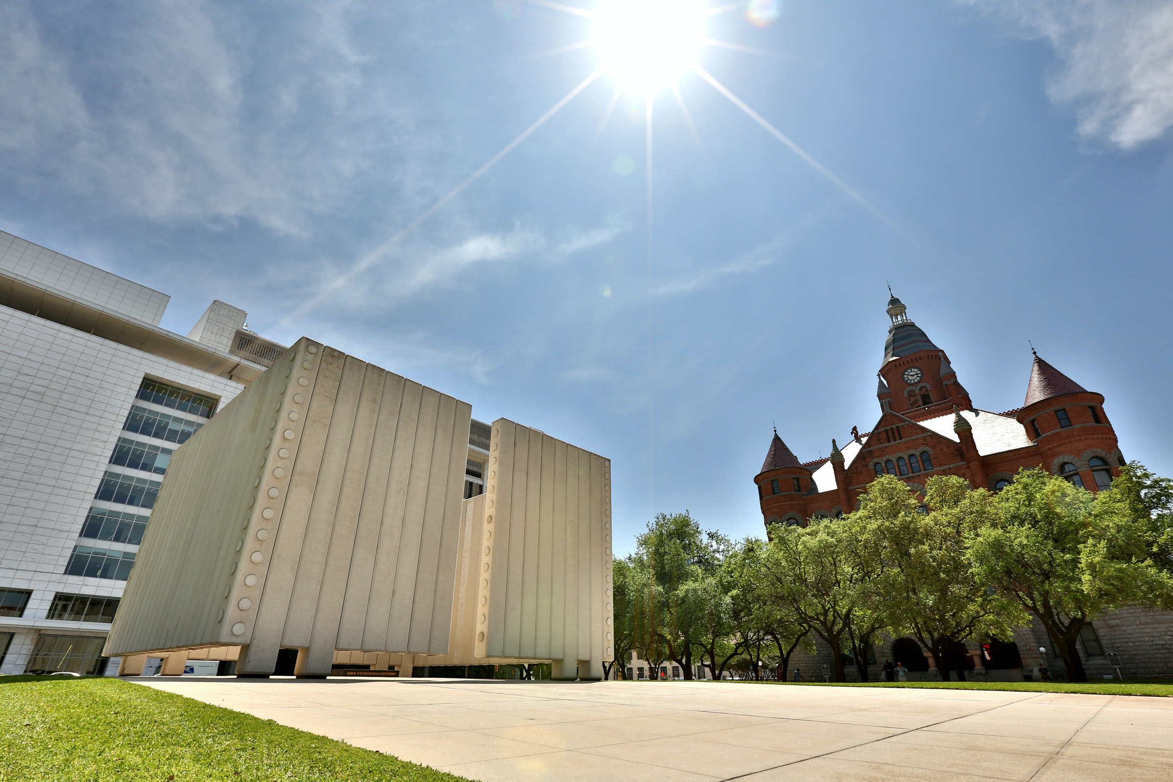 John F. Kennedy Memorial in Beyond Dallas