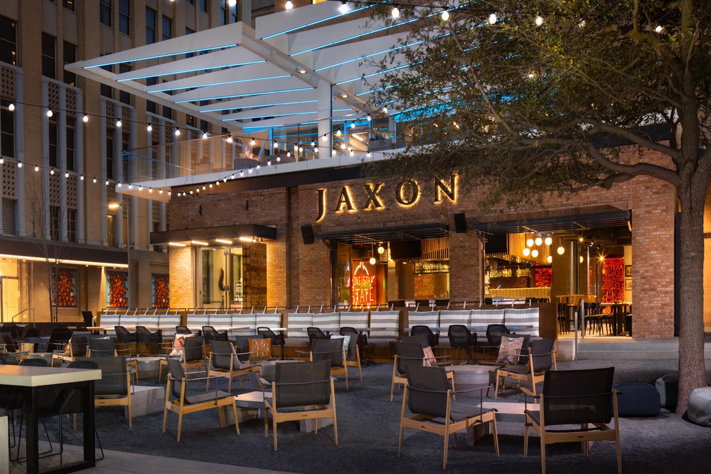 Jaxon Texas Kitchen & Beer Garden in Beyond Dallas