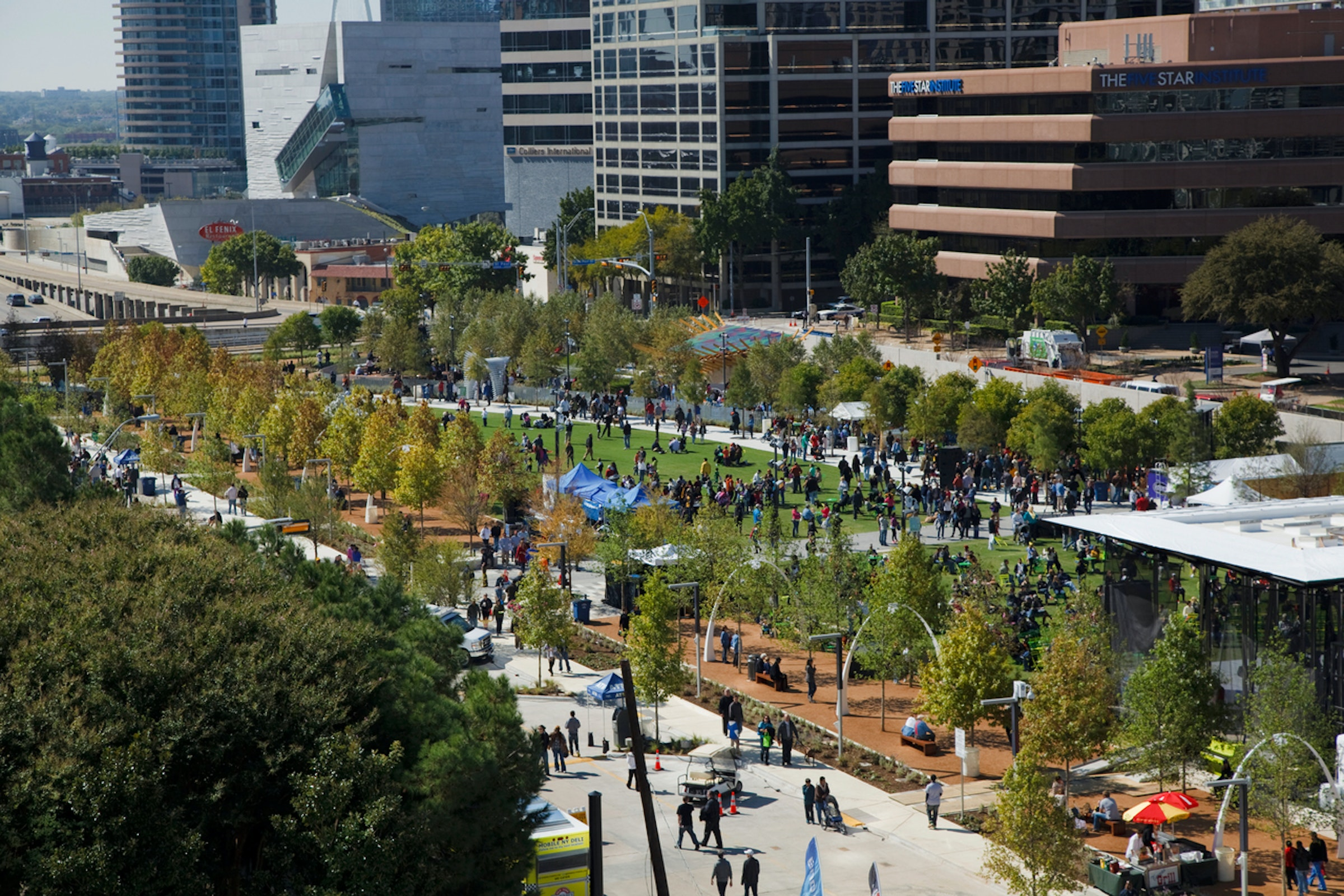Klyde Warren Park in Beyond Dallas
