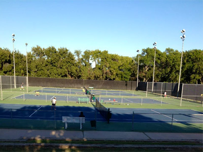 L.B. Houston Tennis Center in Far West Dallas