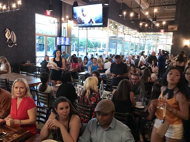 Steam Theory Brewing Company in Trinity Groves