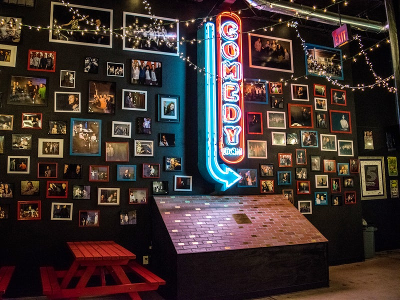 Dallas Comedy House in Deep Ellum