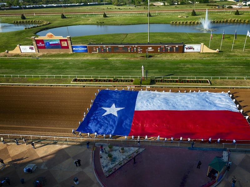 Lone Star Park at Grand Prairie in Far West Dallas