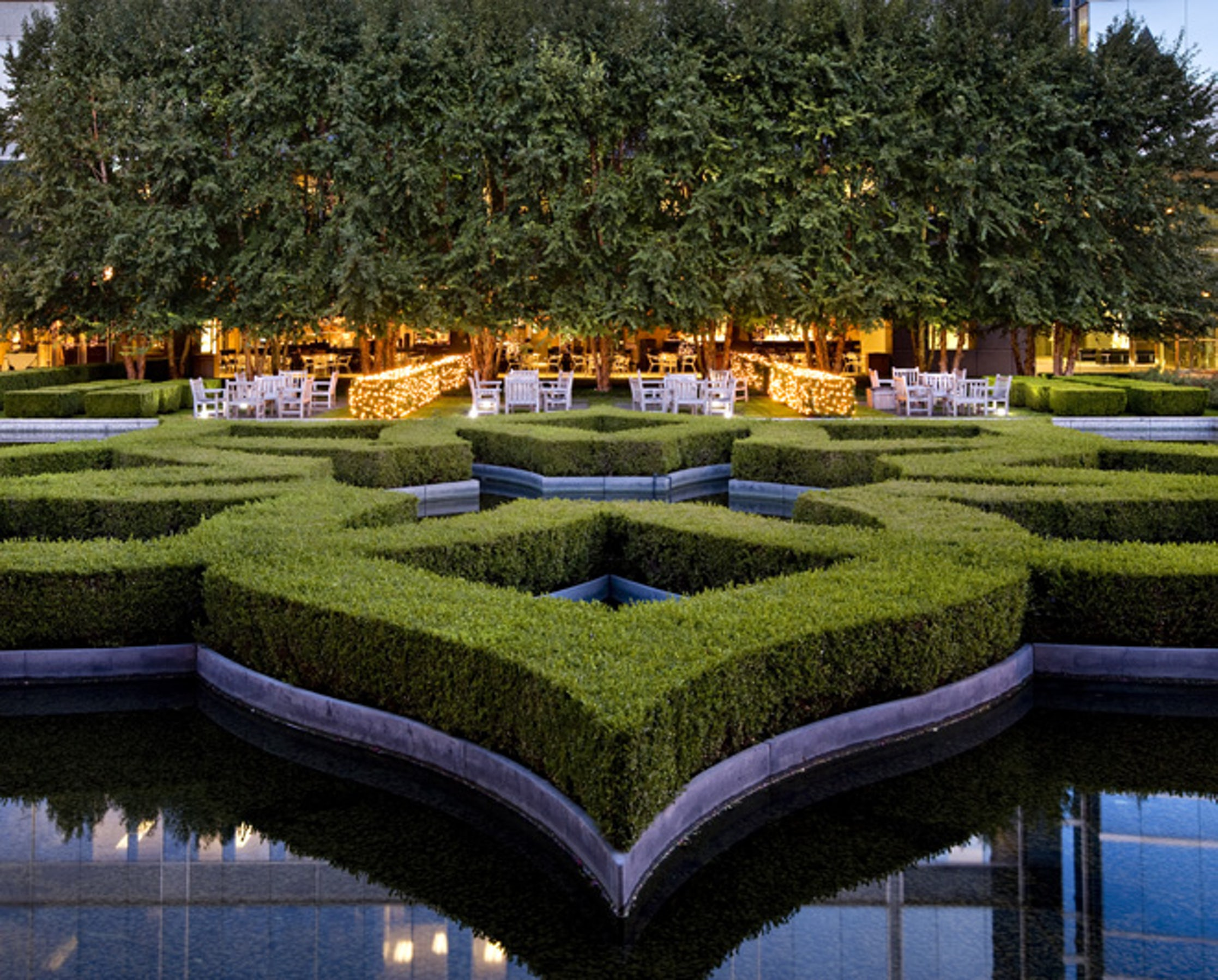 Marie Gabrielle Restaurant & Garden in Beyond Dallas