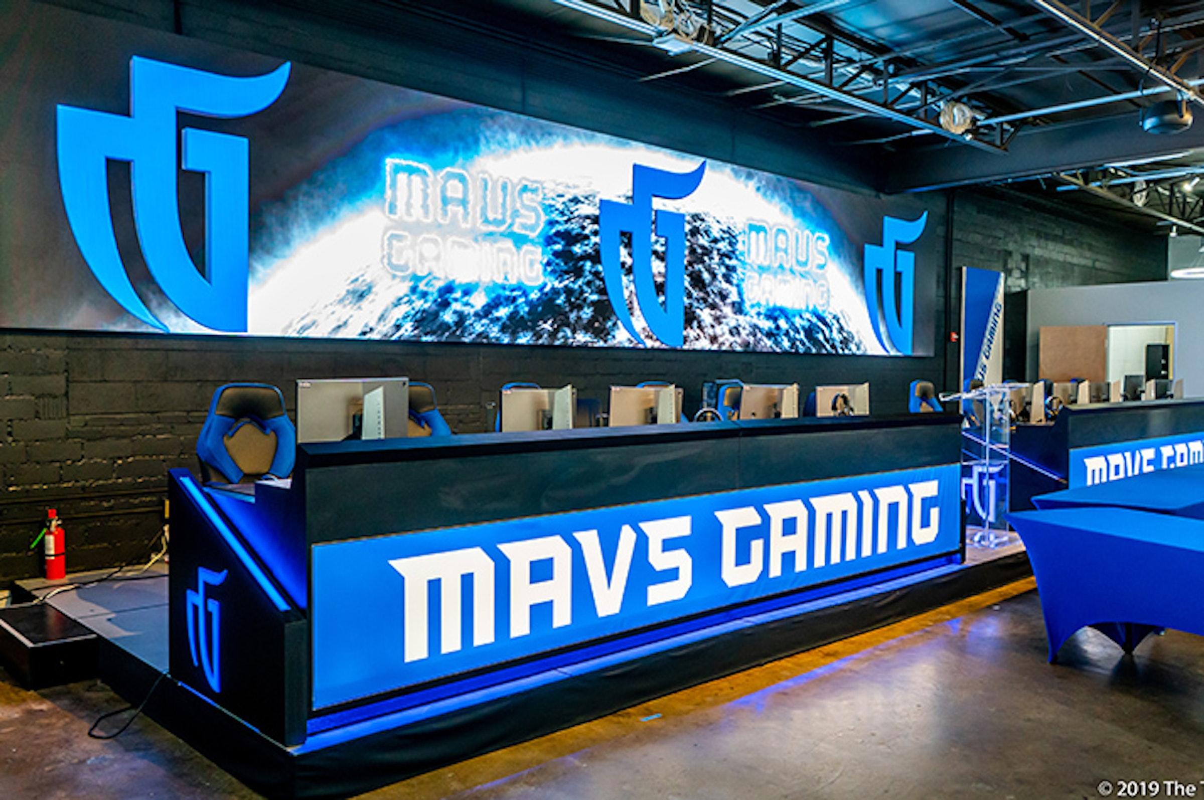 Mavs Gaming Hub in Beyond Dallas