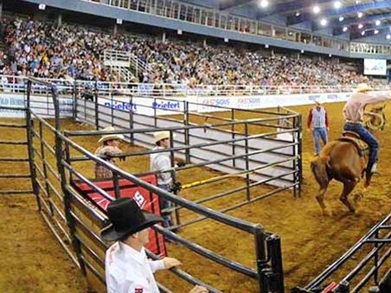 Mesquite Championship Rodeo at Mesquite Arena in Mesquite