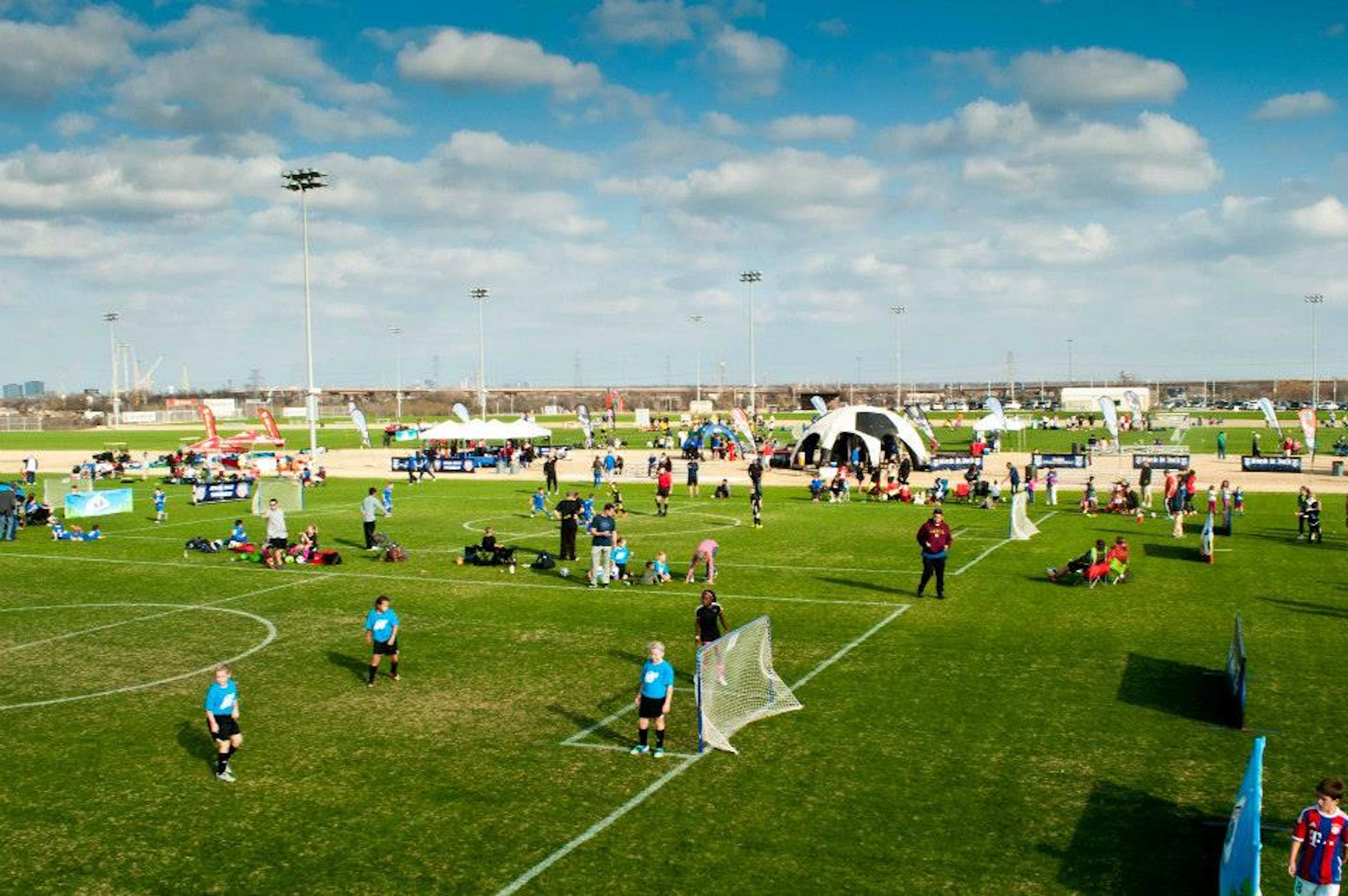 MoneyGram Soccer Park in Beyond Dallas