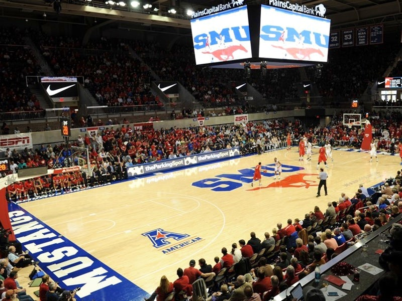 SMU - Moody Coliseum in University Park