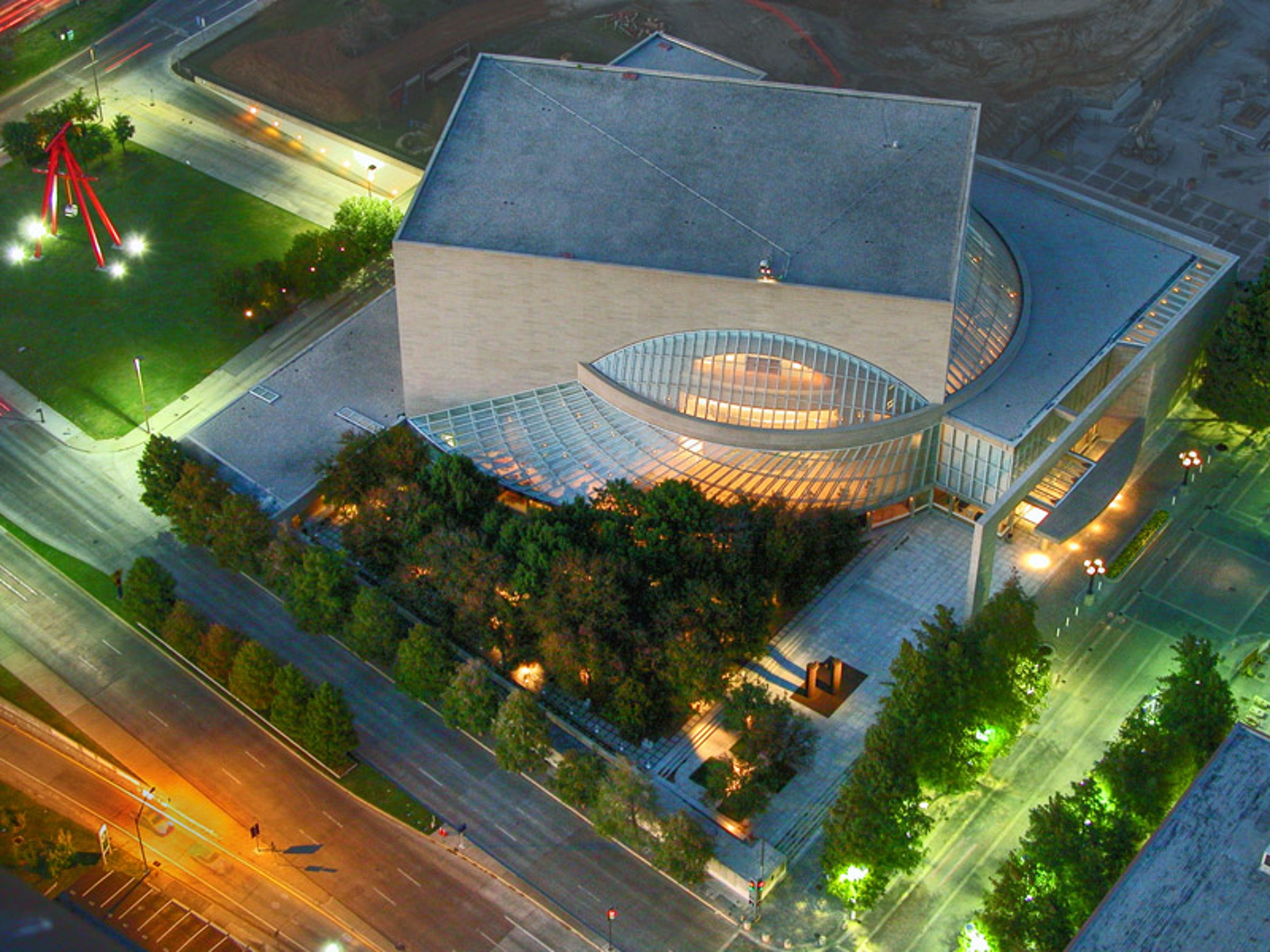 Morton H. Meyerson Symphony Center in Beyond Dallas