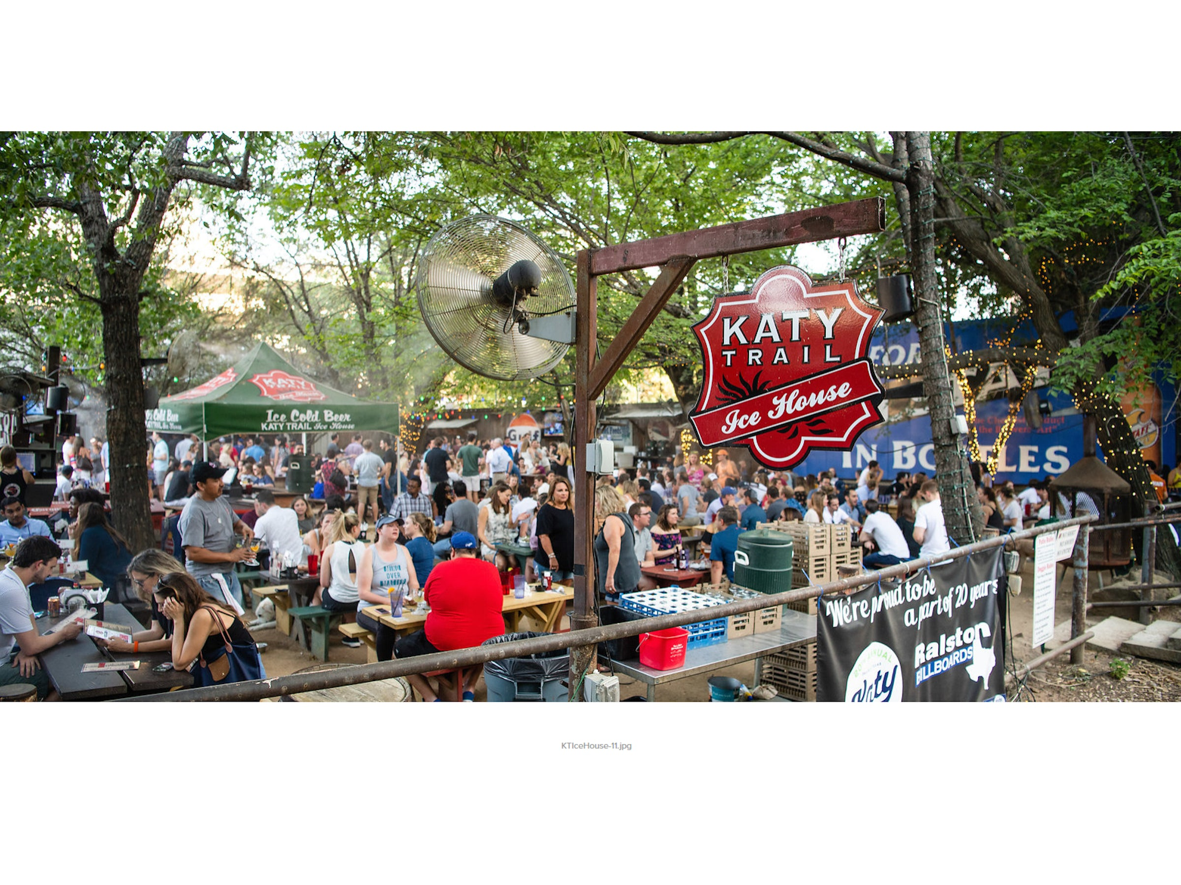 Katy Trail Ice House in Beyond Dallas