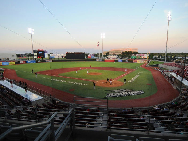 AirHogs Stadium in Far West Dallas